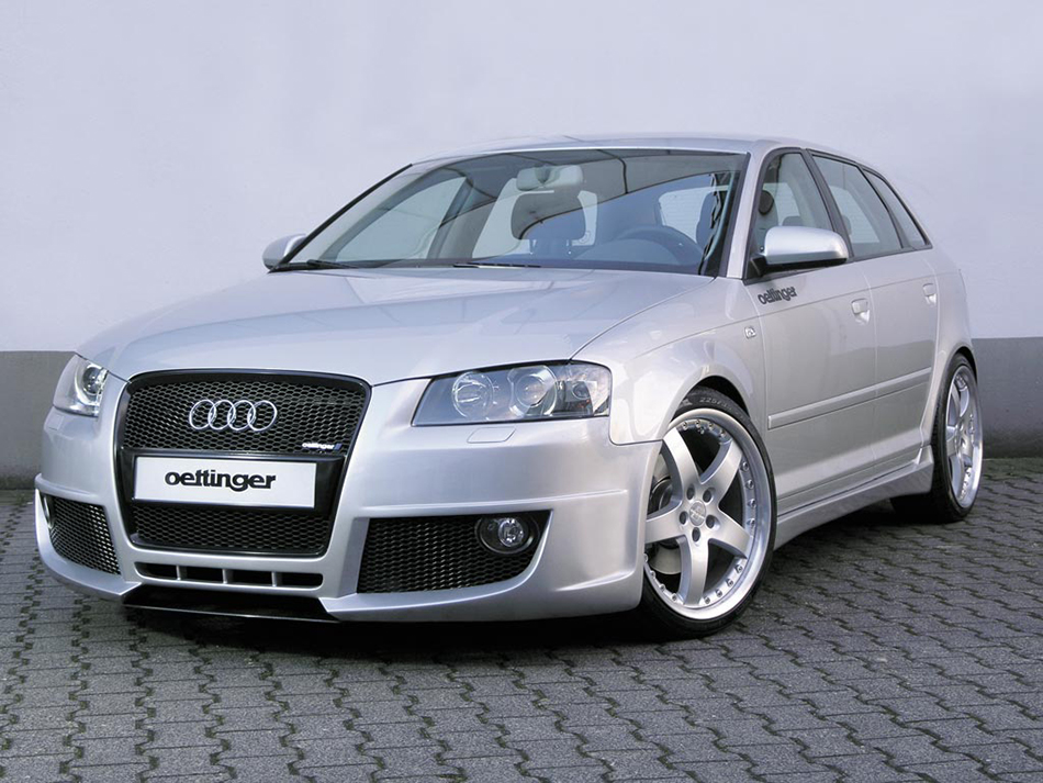 2006 Oettinger Audi A3 Sportback Front Angle