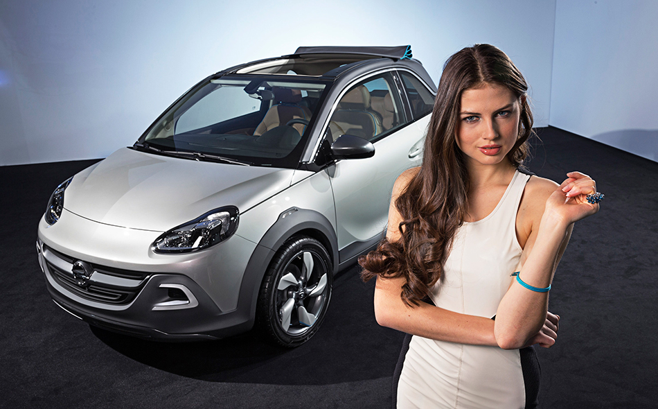 2013 Opel Adam Rocks Concept  Girl