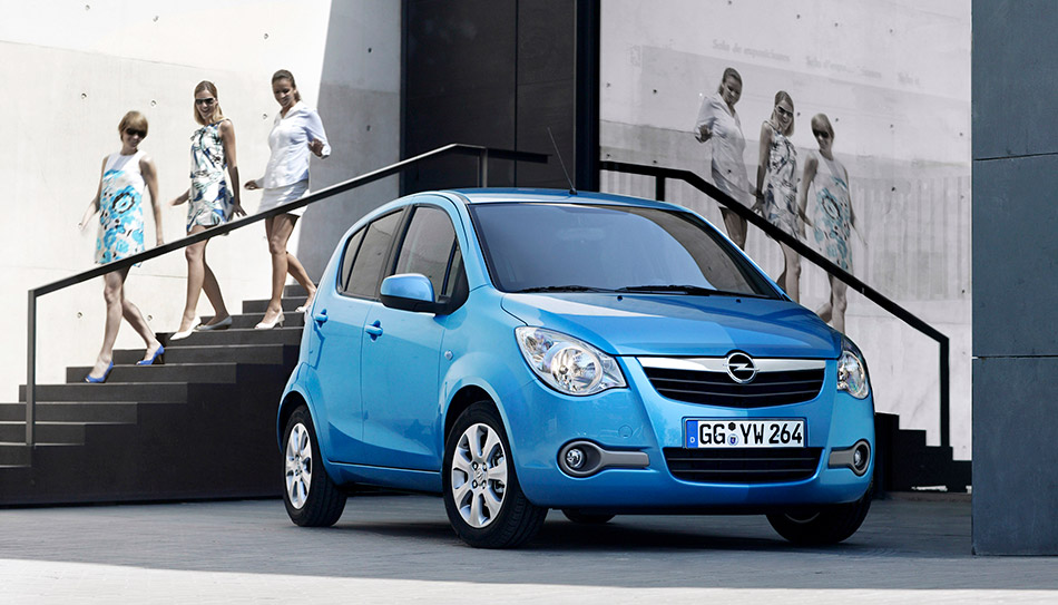 2013 Opel Agila Girls