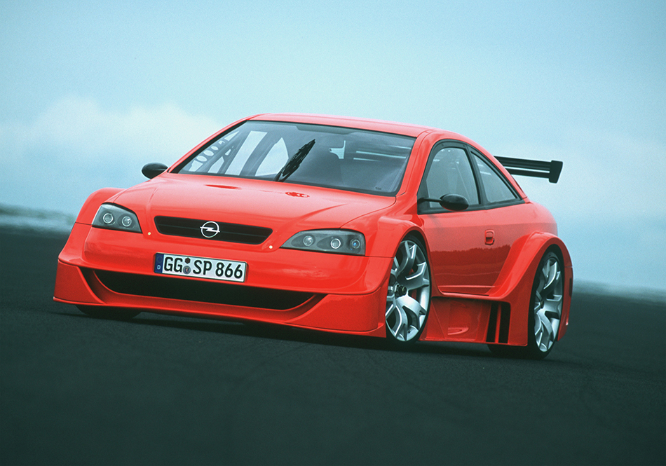 2001 Opel Astra Coupe OPC X-Treme Front Angle