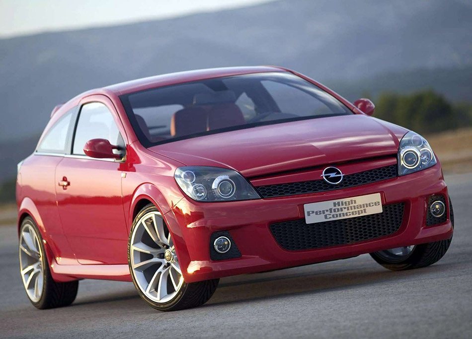 2004 Opel Astra High Performance Concept Front Angle