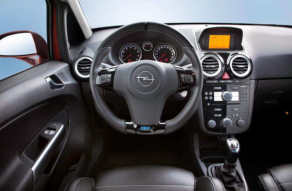 2011 Opel Corsa OPC Interior