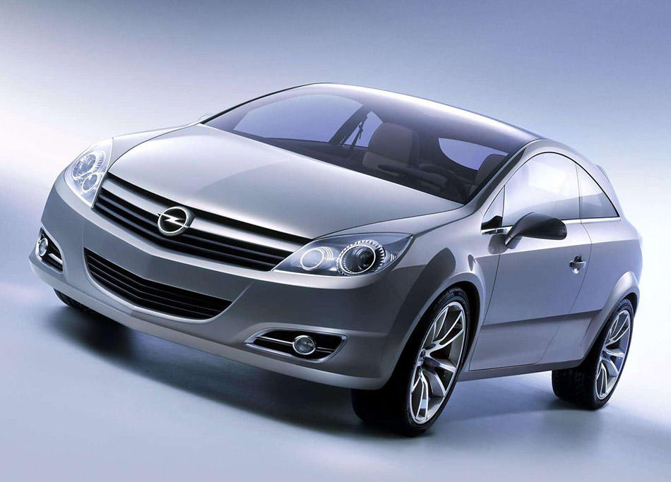 2003 Opel GTC Geneva Concept Front Angle