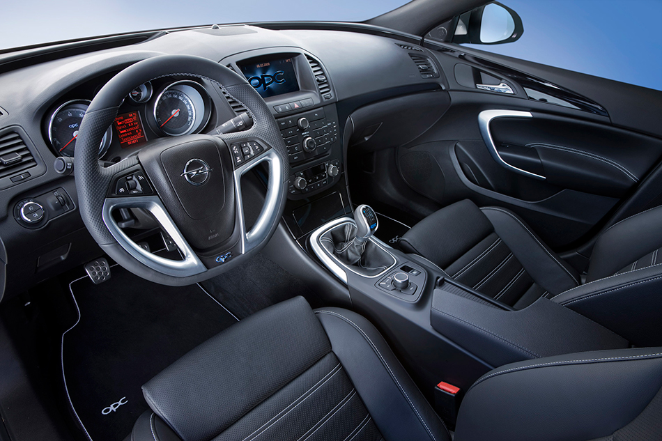 2009 Opel Insignia OPC Interior