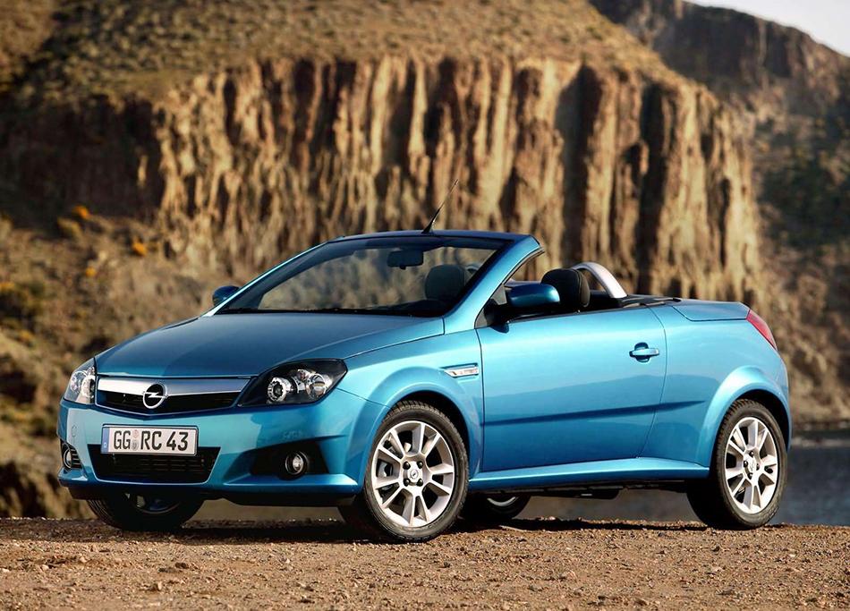 2005 Opel Tigra Twin Top 1.8 Front Angle