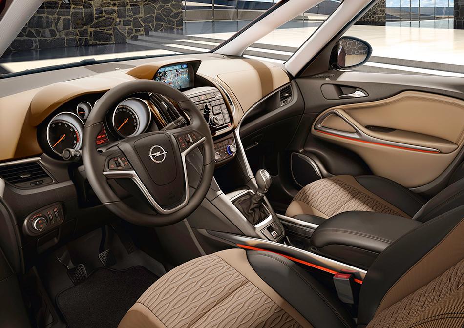 2011 Opel Zafira Tourer Interior