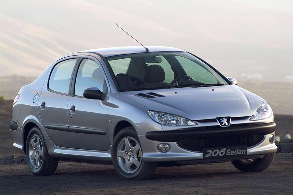 2006 Peugeot 206 Sedan Front Angle