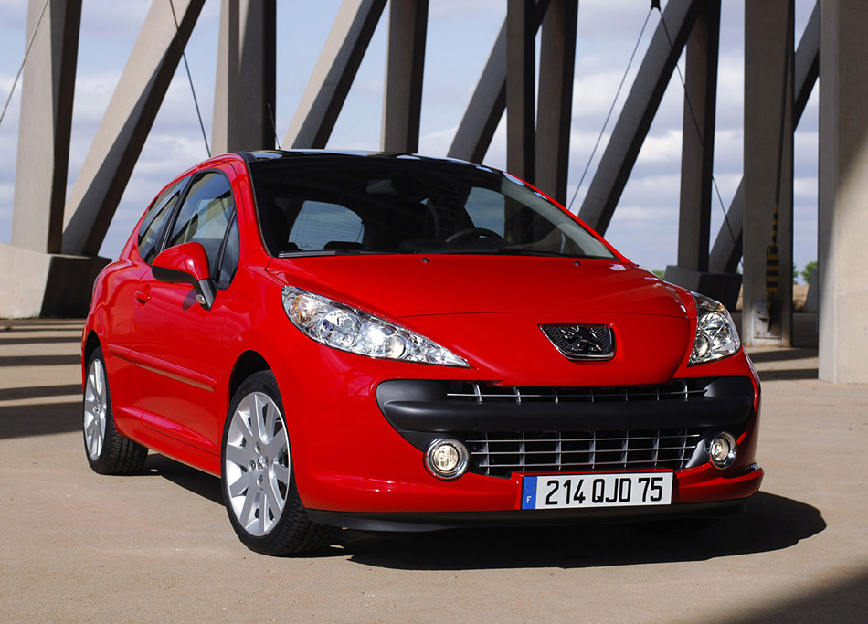 2006 Peugeot 207 Front Angle