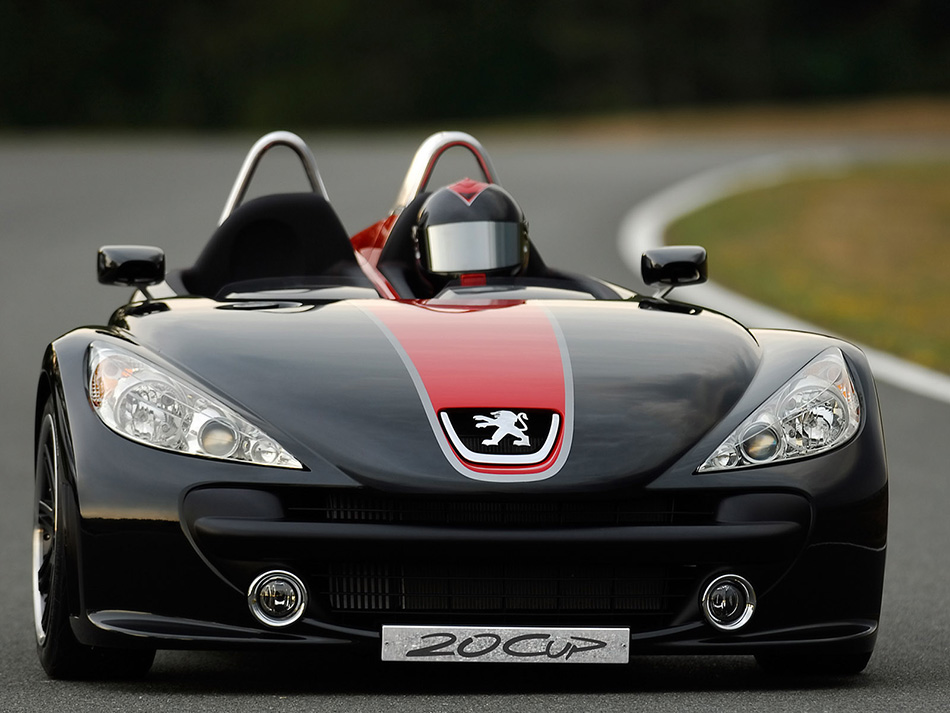 2005 Peugeot 20Cup Concept Front Angle