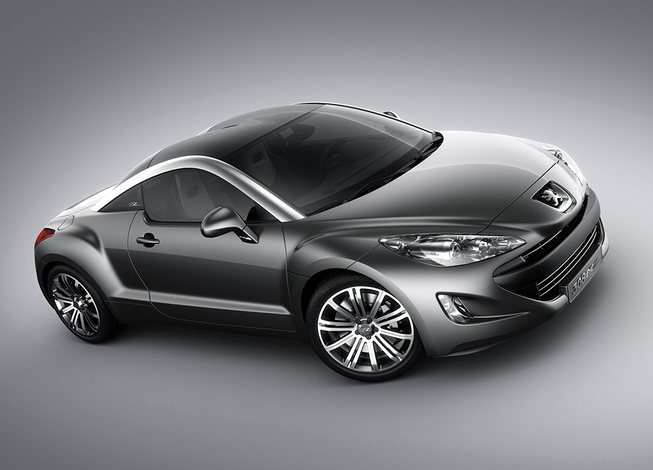2007 Peugeot 308 RC Z Concept Front Angle