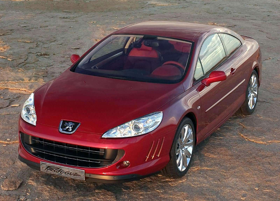 2005 Peugeot 407 Prologue Concept Front Angle