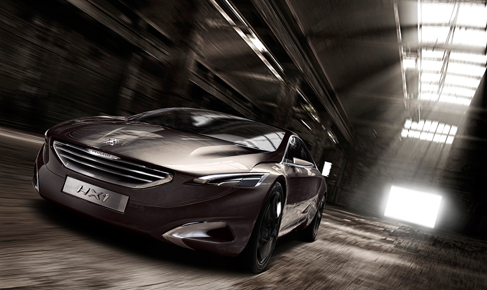2011 Peugeot HX1 Concept Front Angle