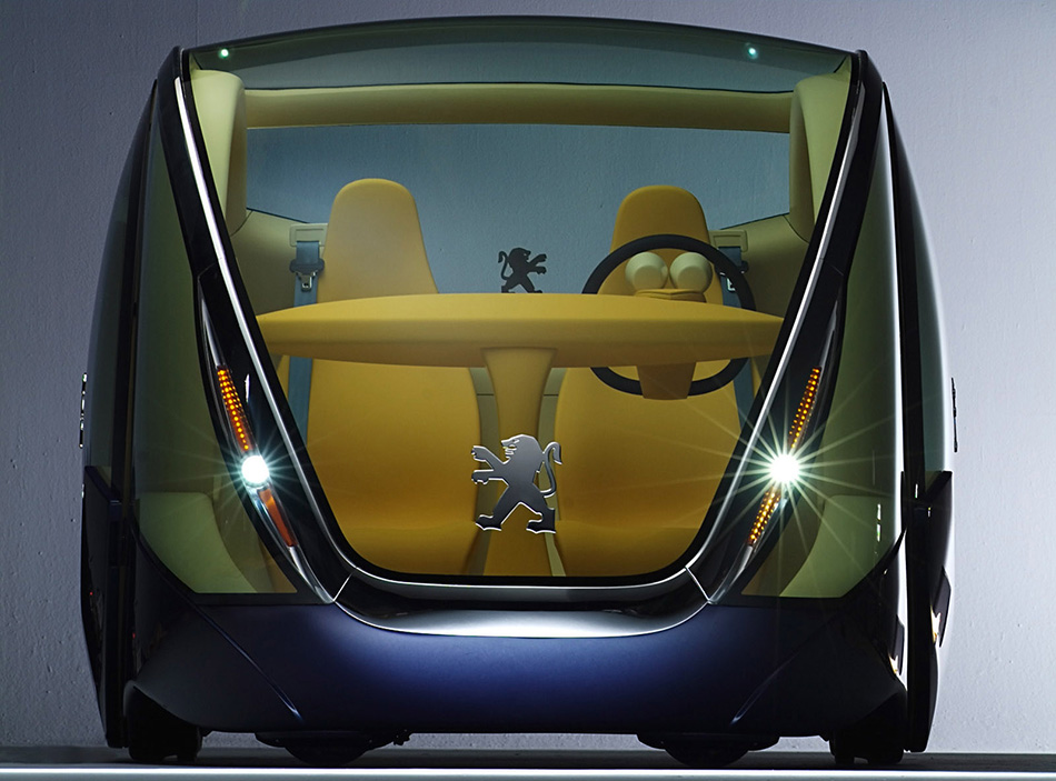 2005 Peugeot Moovie Concept Front Angle