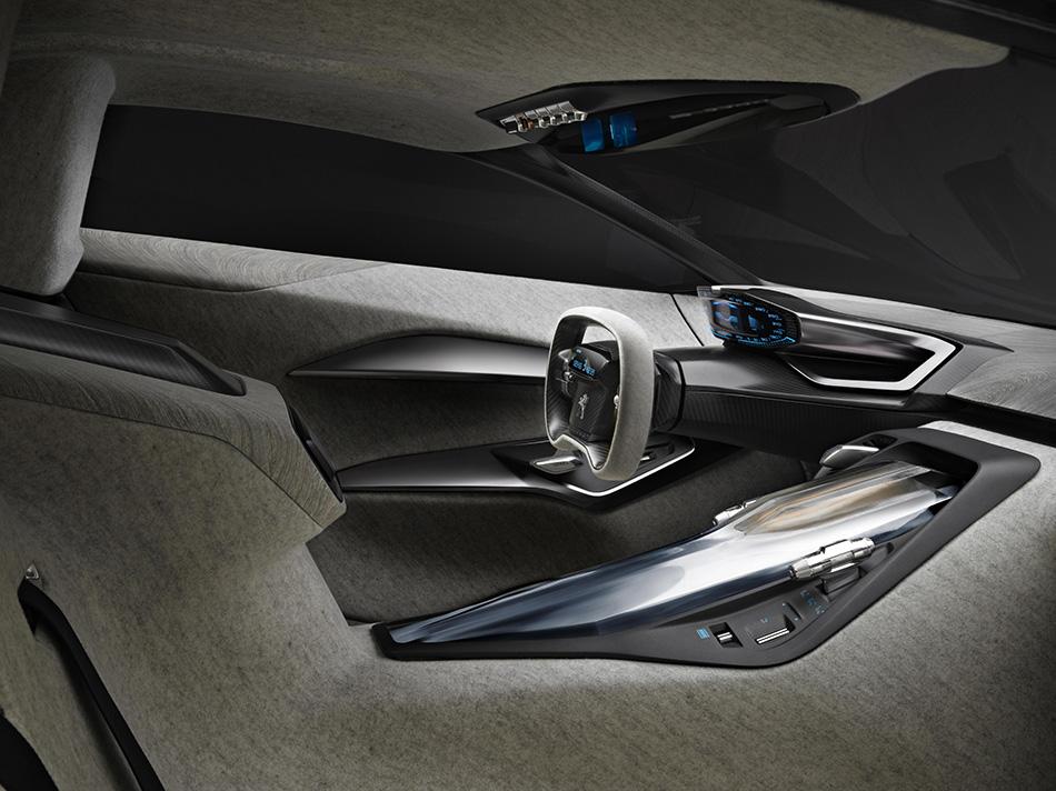 2012 Peugeot Onyx Concept Interior