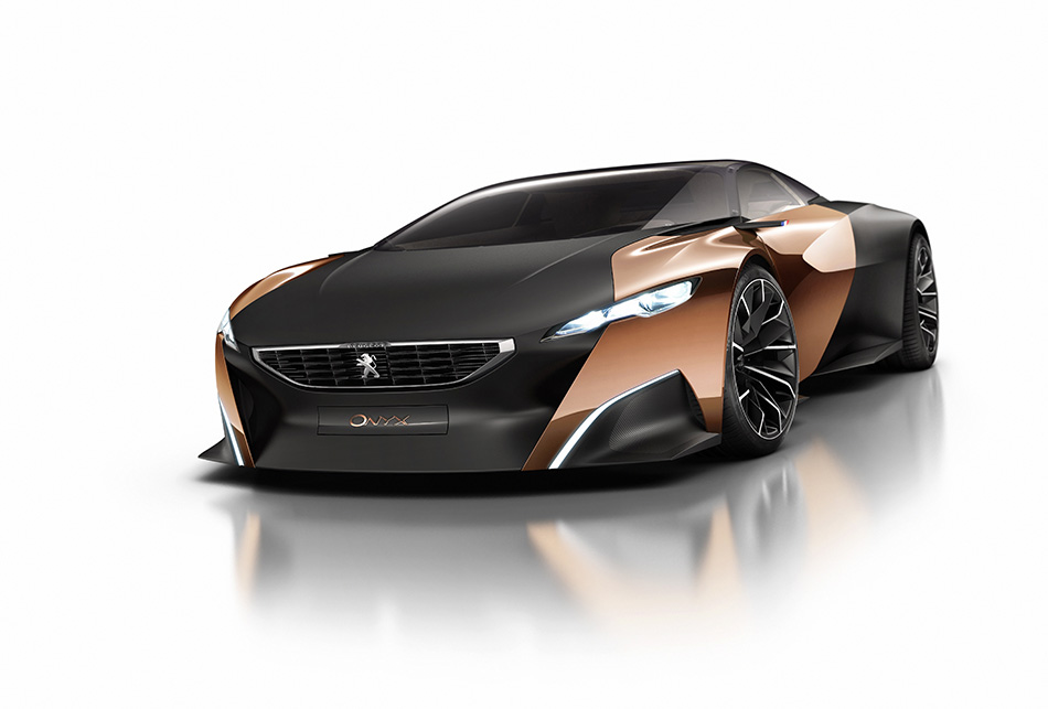 2012 Peugeot Onyx Concept Front Angle