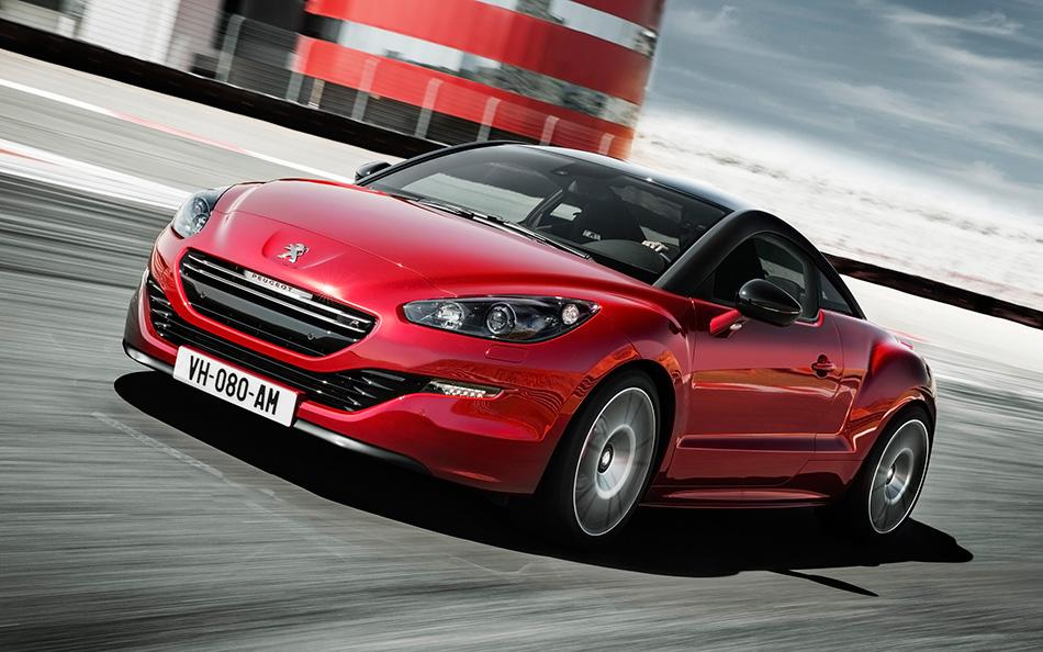2013 Peugeot RCZ R Front Angle
