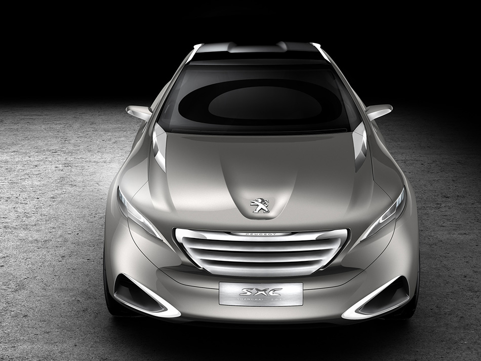 2011 Peugeot SXC Concept Front Angle