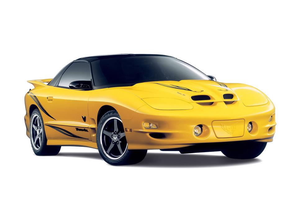 2002 Pontiac Firebird Trans Am Collector Edition Front Angle