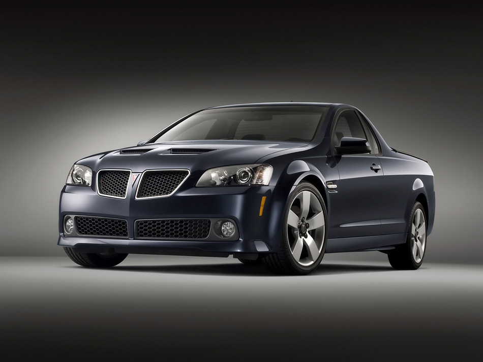 2010 Pontiac G8 Sport Truck Front Angle