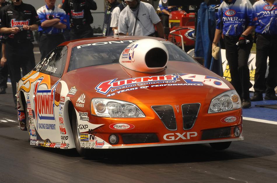 2008 Pontiac GXP NHRA Pro Stock Front Angle