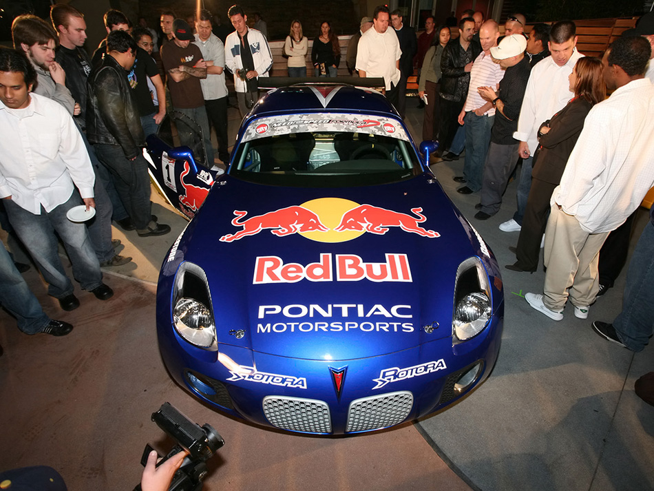 2006 Pontiac Red Bull Solstice GXP Drift Front Angle