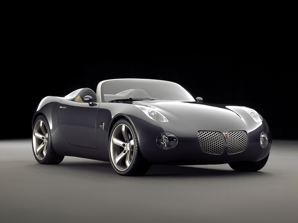 2006 Pontiac Solstice Roadster Concept Front Angle