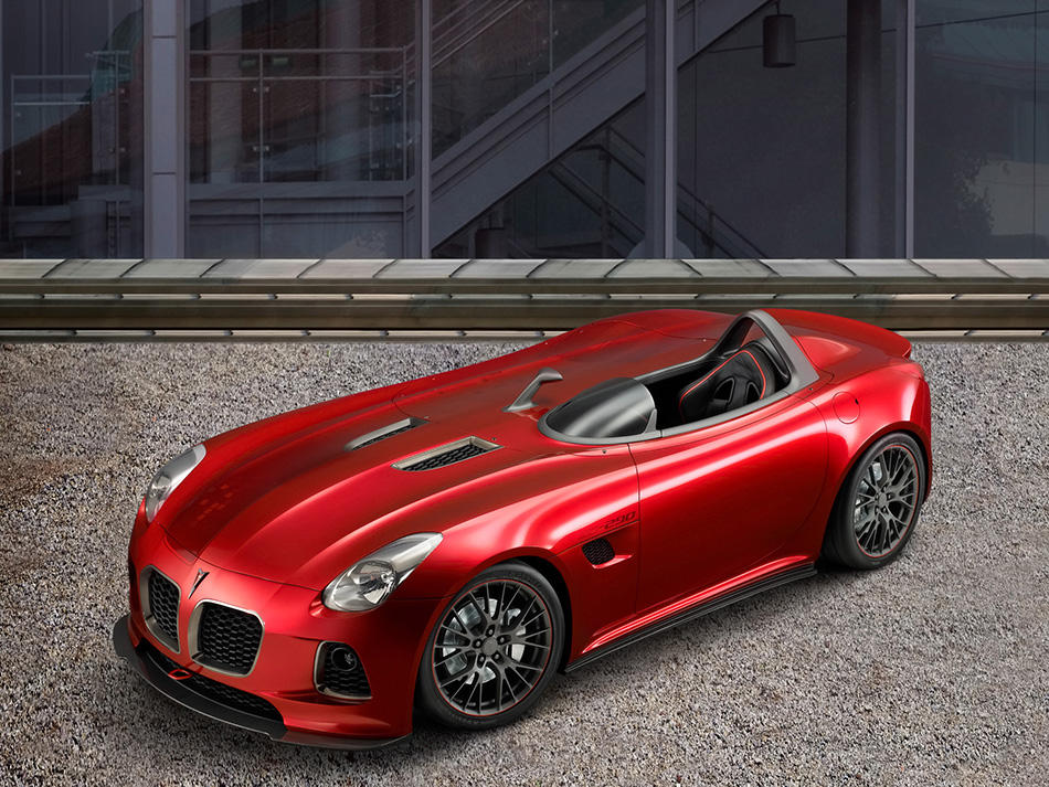 2007 Pontiac Solstice SD-290 Front Angle