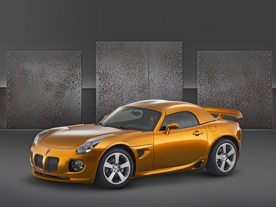 2005 Pontiac Solstice Weekend Club Racer Concept Front Angle