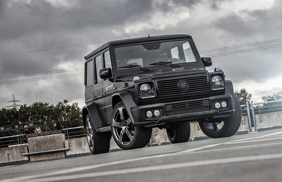 2013 Prior Design Mercedes-Benz G-Class W463 Front Angle