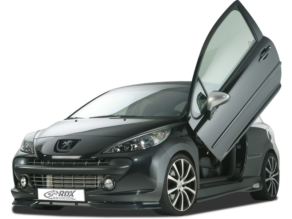 2010 RDX Racedesign Peugeot 207 Front Angle