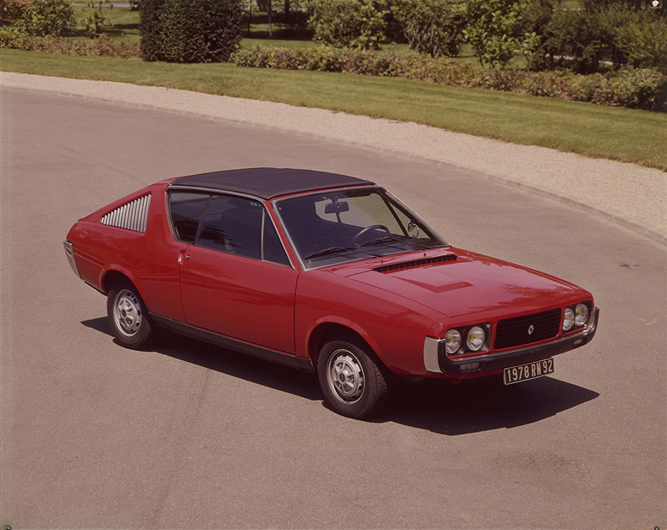 1972 Renault 17 Coupe Front Angle