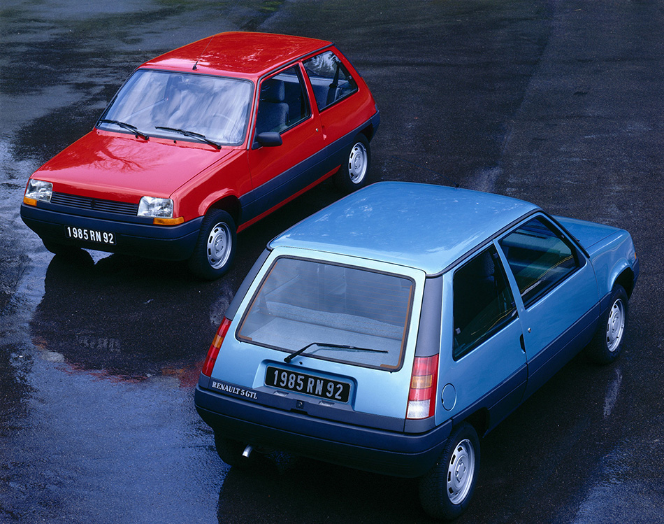 1972 Renault 5 Front Angle