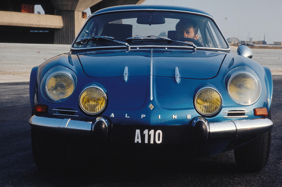 1962 Renault Alpine A110 Front Angle