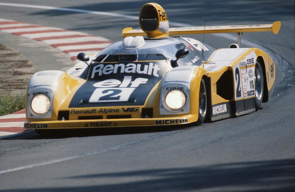 1976 Renault Alpine Le Mans A442 Front Angle