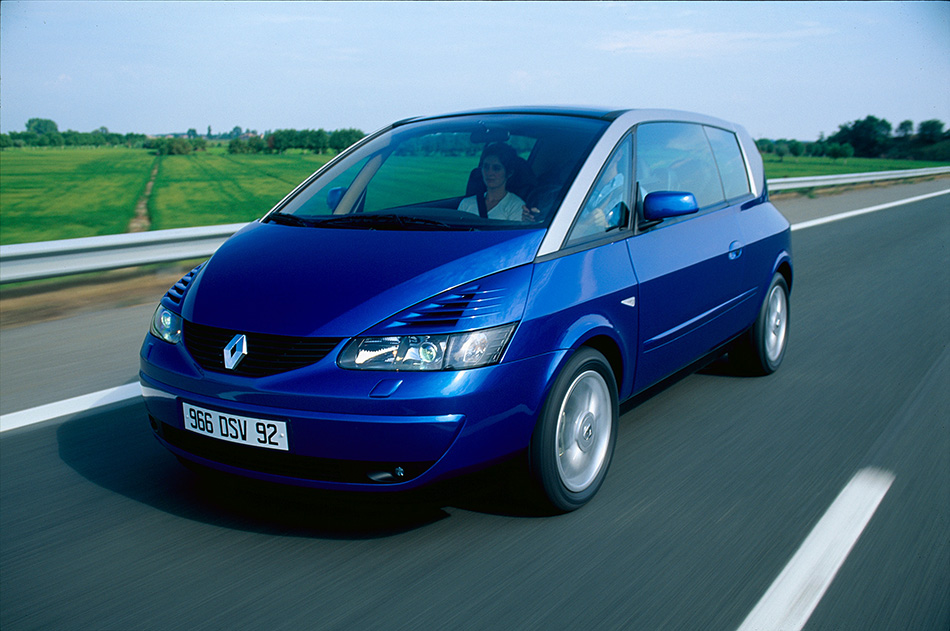 2001 Renault Avantime Front Angle