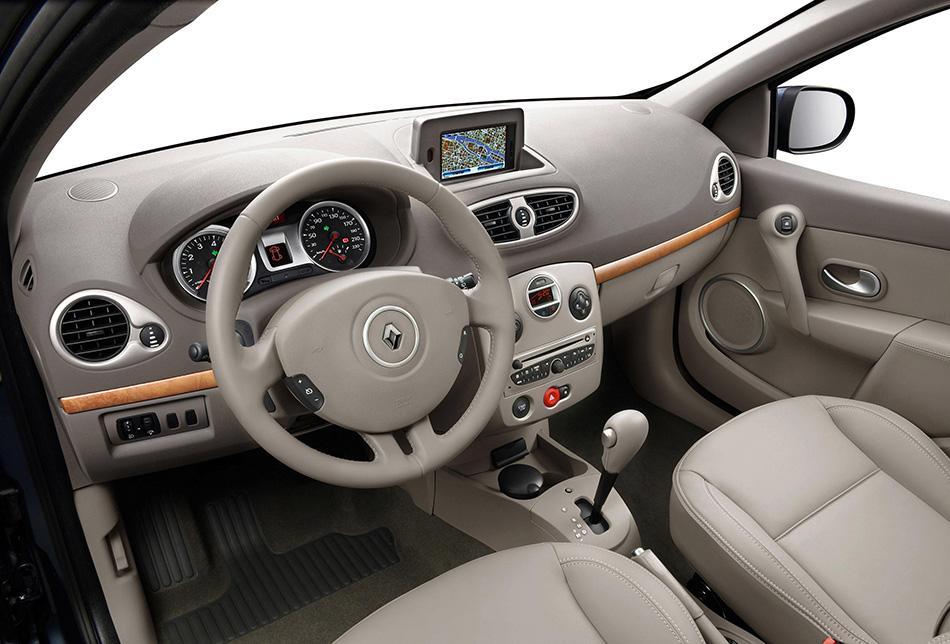 2009 Renault Clio Interior