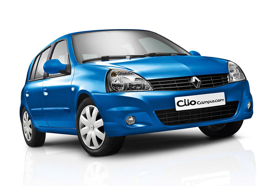 2009 Renault Clio Campus Front Angle