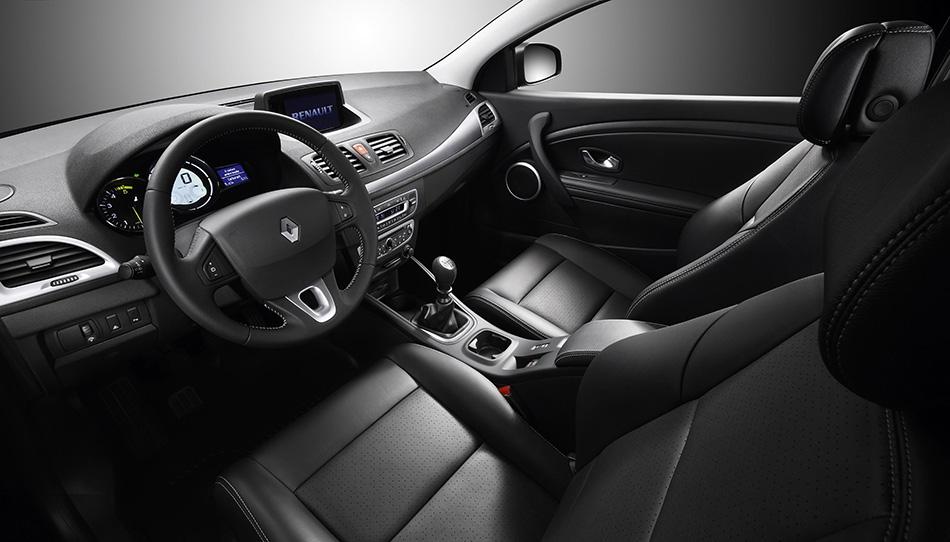 2008 Renault Megane Interior