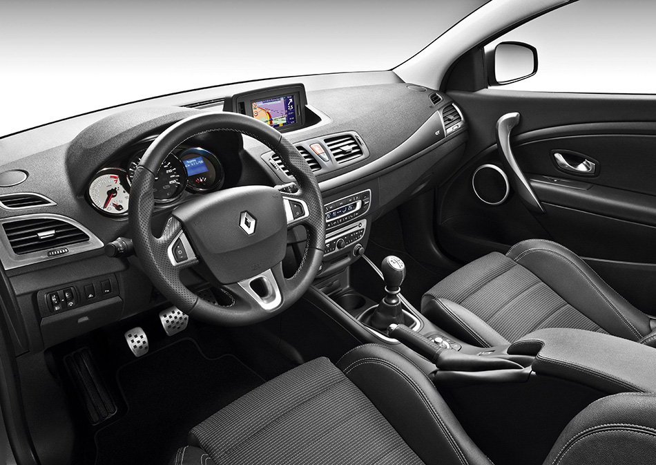 2010 Renault Megane GT Interior