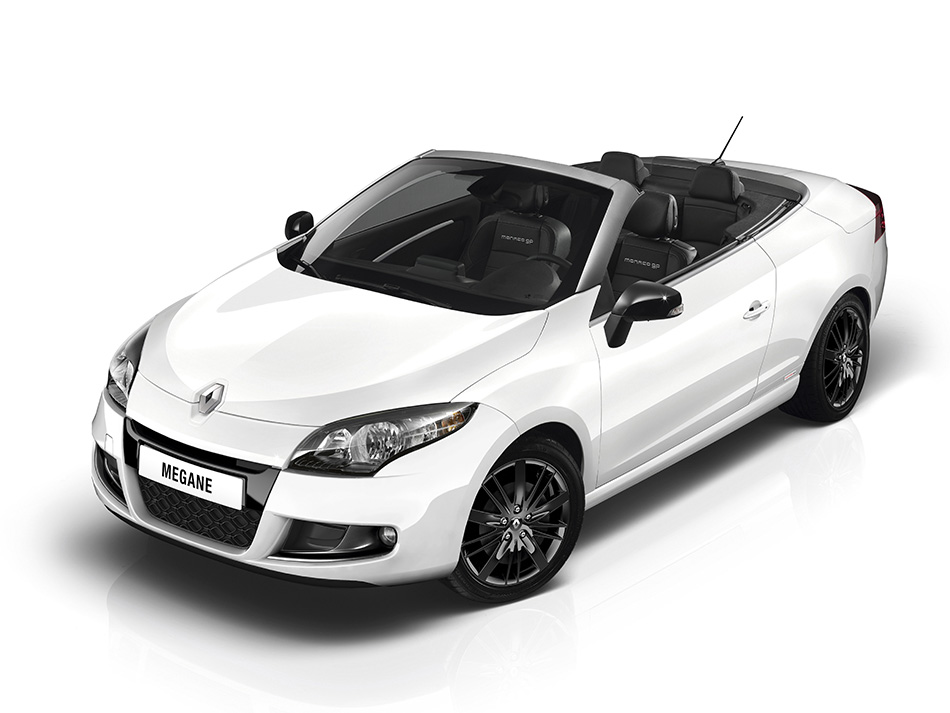 2012 Renault Megane Monaco GP Coupe Cabriolet Front Angle