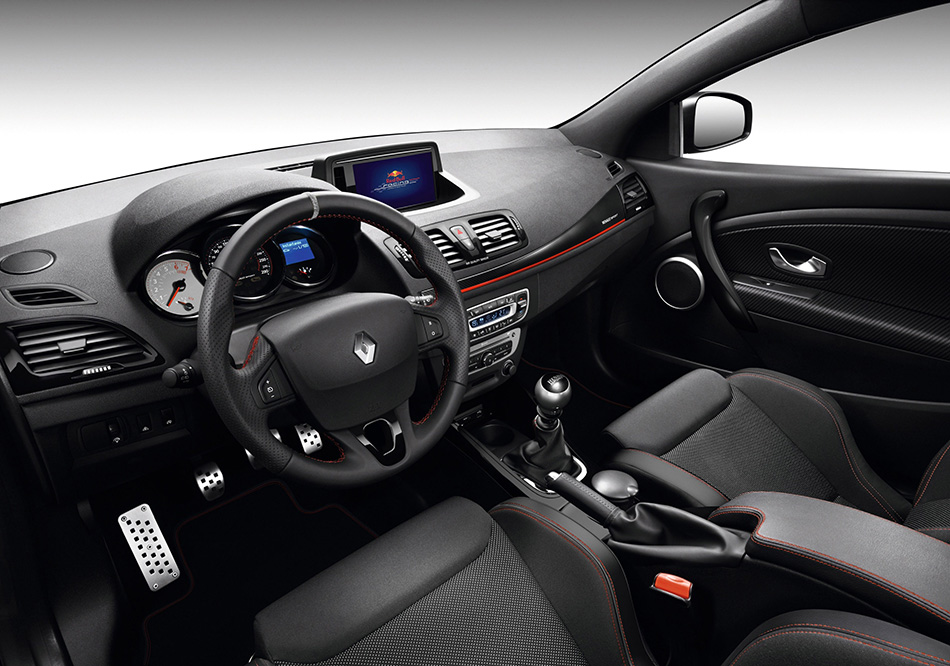 2013 Renault Megane RS Coupe Red Bull Racing RB8 Interior