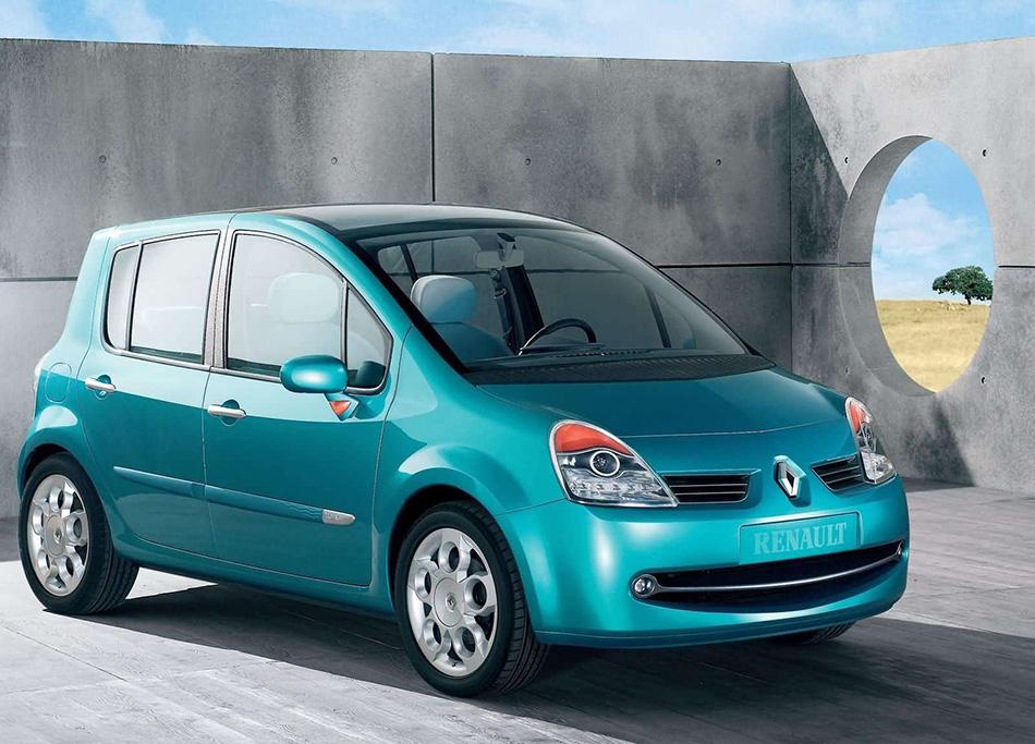 2004 Renault Modus Concept Front Angle