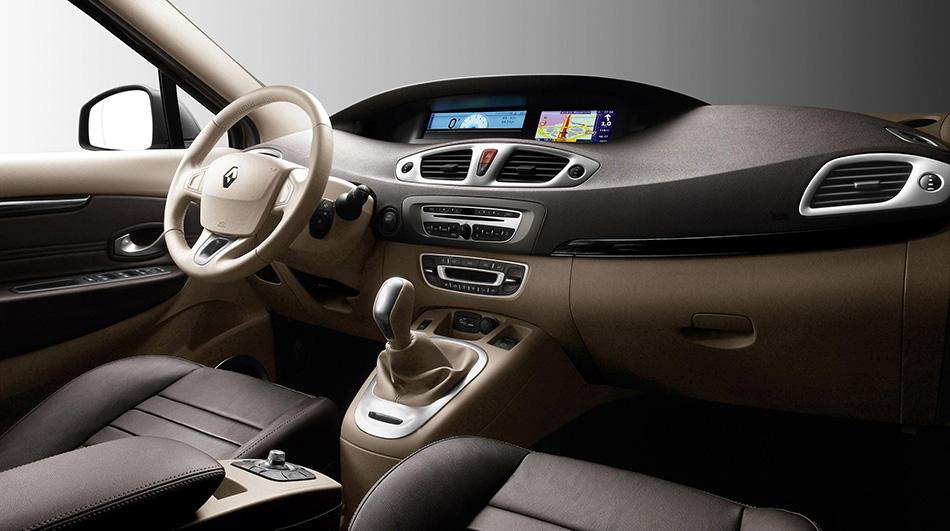 2009 Renault Scenic Interior
