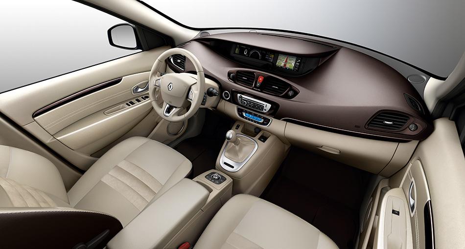 2012 Renault Scenic Interior