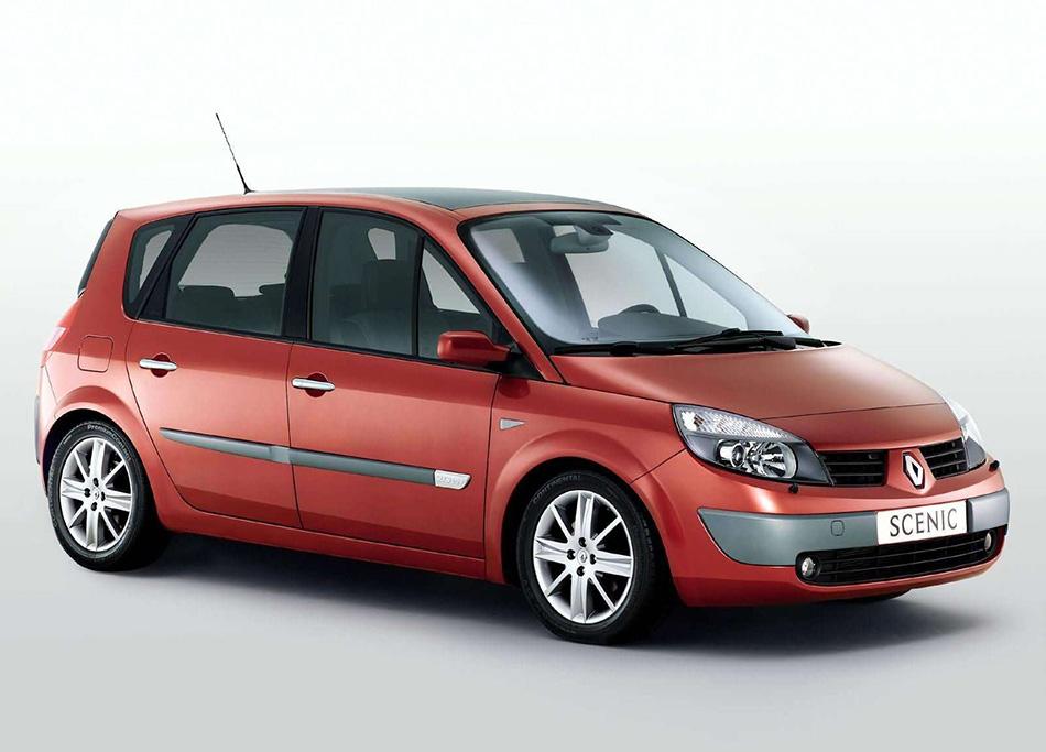 2003 Renault Scenic II Front Angle