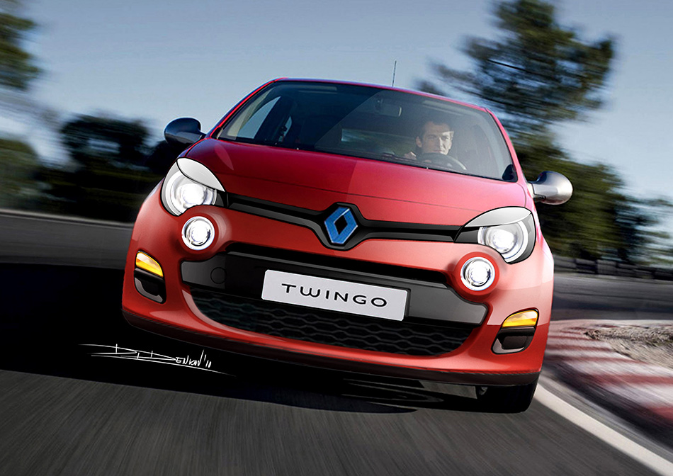 2011 Renault Twingo Front