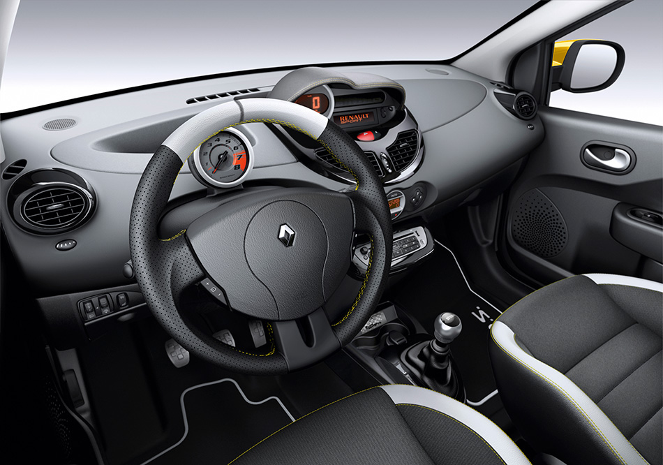 2012 Renault Twingo RS Red Bull Racing RB7 Interior