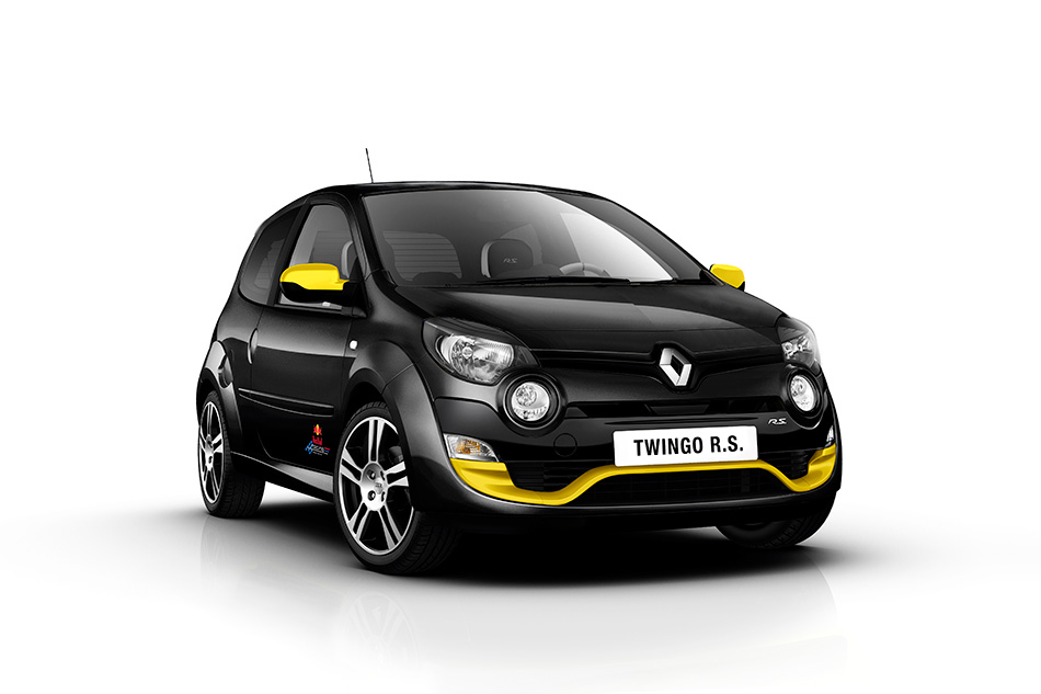 2012 Renault Twingo RS Red Bull Racing RB7 Front Angle