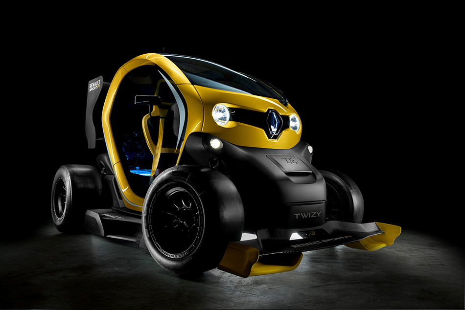 2013 Renault Twizi Sport F1 Concept Front Angle