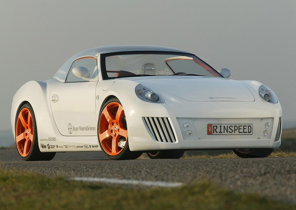2006 Rinspeed Porsche 911 S zaZen Front Angle